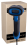 AUTOMATIC BARCODE READER HD320A. FRONT VIEW.