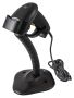 WIRED BARCODE READER WITH STAND HD42A. SET.