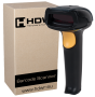 AUTOMATIC BARCODE READER HD29A. FRONT VIEW.