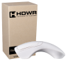 WIRELESS MOUSE + 2D BARCODE READER HD-MS300. WHITE HOUSING.