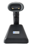 WIRELESS BARCODE READER HD8600A. FRONT VIEW.