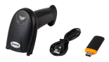 WIRELESS BARCODE SCANNER HD21. SET.